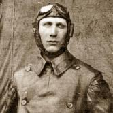 Dragutin Novak in his pilot uniform