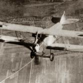 Flight in  Austro-Hungarian military aircraft