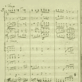 Score of the opera Ljubav i zloba (Love and Malice)